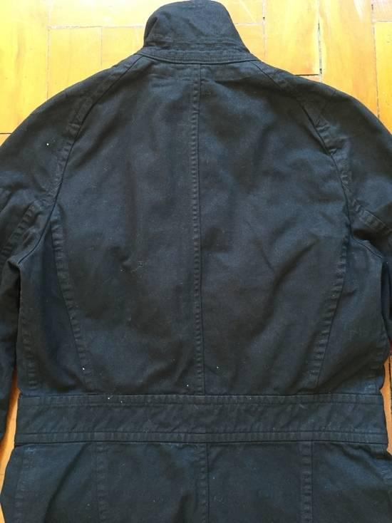 Julius AW08 Gas mask cargo pocket denim jacket Size US S / EU 44-46 / 1 - 8