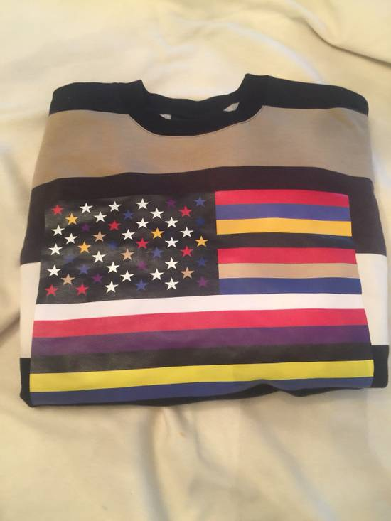 Givenchy Star/flag Sweatshirt Size US S / EU 44-46 / 1 - 1