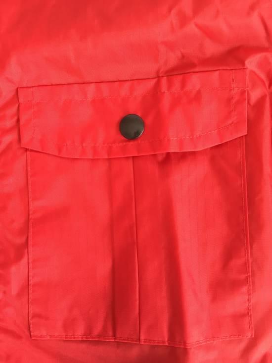 Thom Browne Red Hooded Rain Parka, NWT Size US L / EU 52-54 / 3 - 6