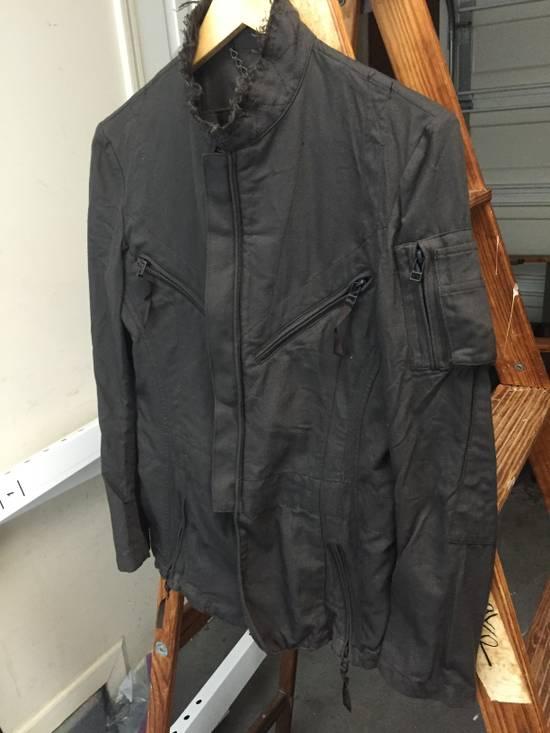 Julius AW06 Multi Zip Distressed Military Jacket Size US XS / EU 42 / 0 - 2