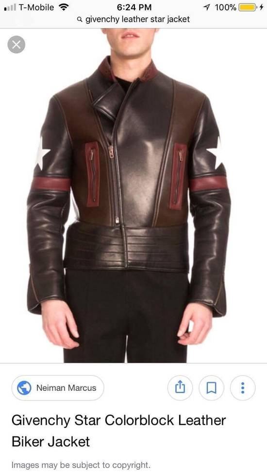 Givenchy Givenchy Lamb Leather Jacket Size US M / EU 48-50 / 2 - 3