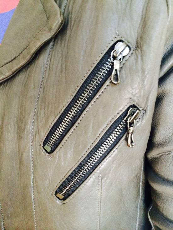 Julius Julius 7 Men Leather Jacket Size US M / EU 48-50 / 2 - 4