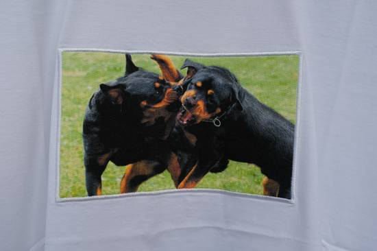 Givenchy White Fighting Rottweilers T-shirt Size US XS / EU 42 / 0 - 4