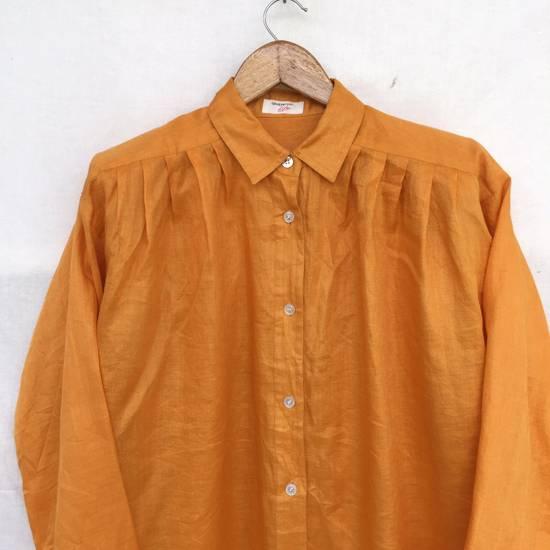 Givenchy Givenchy Dress Shirt Yellow 27x29:5 Size US XL / EU 56 / 4 - 3