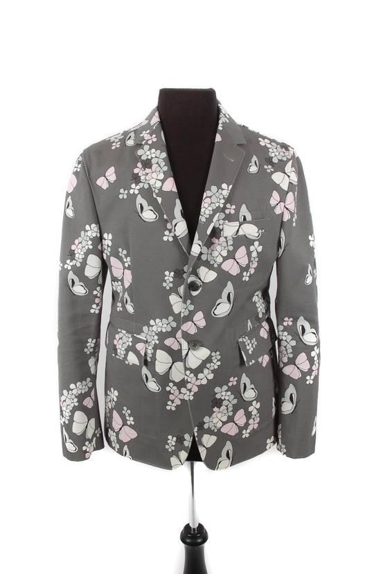 Thom Browne Thom Browne Grey Butterfly Print Blazer Size 40R