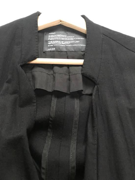 Julius SS12 layered front panel coat Size US M / EU 48-50 / 2 - 12