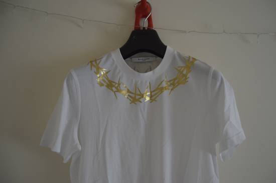 Givenchy Crown of Thorns White T-shirt Size US XS / EU 42 / 0 - 1