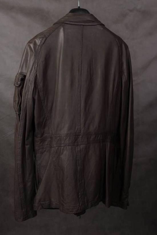 Julius AW08 gasmask M65 leather jckt Size US L / EU 52-54 / 3 - 3