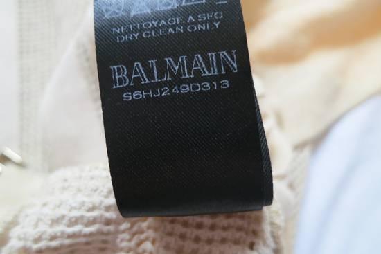 Balmain Zipped Up Cotton/Linen Hoodie Size US XL / EU 56 / 4 - 9