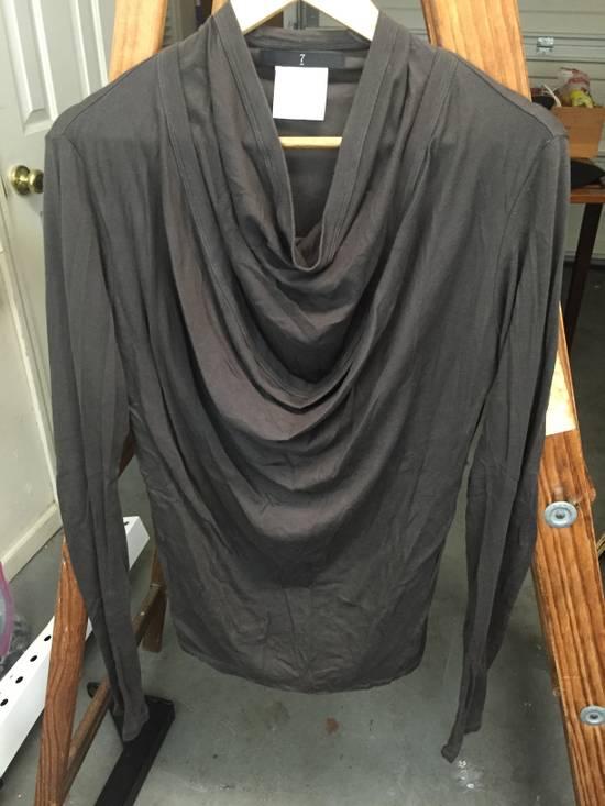 Julius AW07 Giza Cotton Drape Neck Longsleeve Size US S / EU 44-46 / 1
