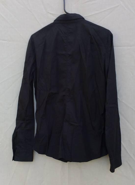 Julius Black Hidden Placket Shirt Size US L / EU 52-54 / 3 - 1