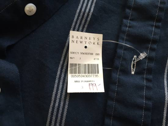 Thom Browne Brand New Thom Browne Navy Stripe Shirts Size US L / EU 52-54 / 3 - 1