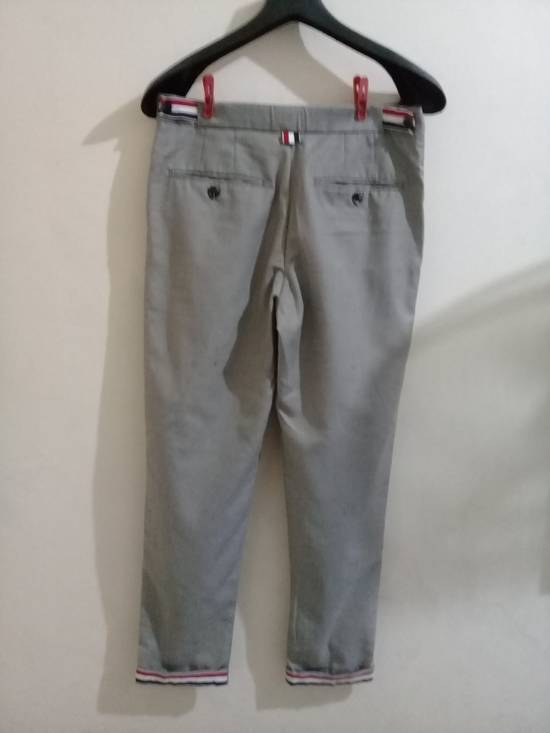 Thom Browne THOM BROWNE CLASSIC GRAY TROUSER Size 46R - 1