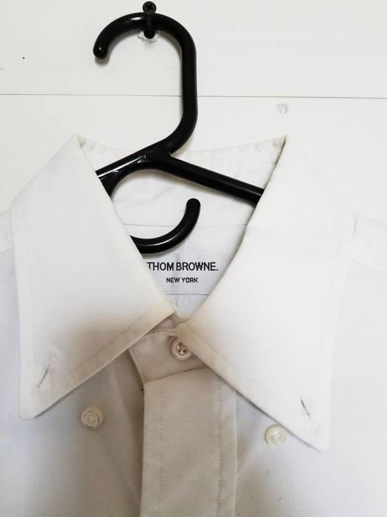 Thom Browne Cotton Oxford Shirt Size US M / EU 48-50 / 2
