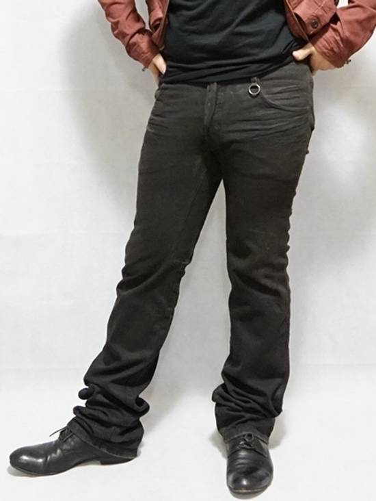 Julius Distress Washed Jeans Dusty Brown Size US 34 / EU 50