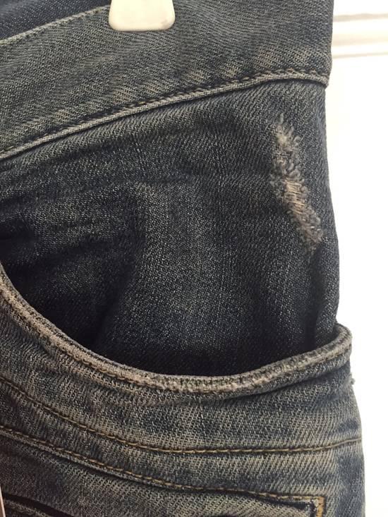 Balmain ss12 Biker jeans (fit 28) Size US 29 - 3