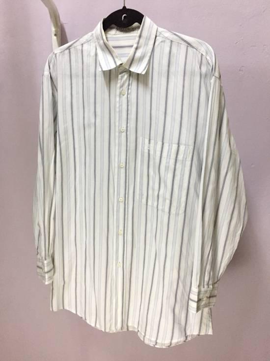 Givenchy Vintage Givenchy Stripe Button Shirt Size US L / EU 52-54 / 3