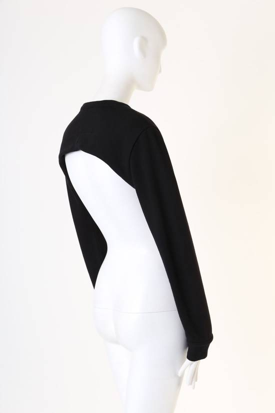 Givenchy GIVENCHY RICCARDO TISCI RT black crew neck cropped sweater long sleeves top XS Size US XS / EU 42 / 0 - 6
