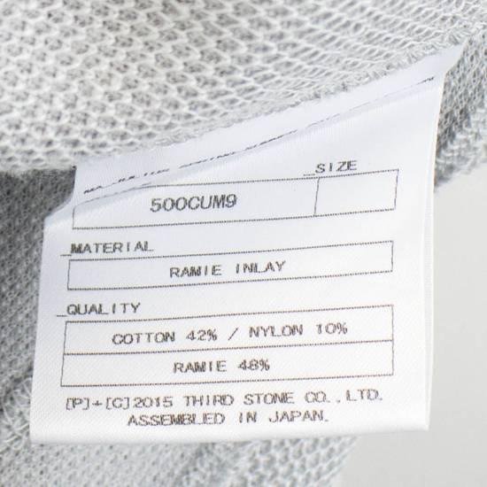 Julius MA_JULIUS Gray Cotton Blend 'Plaster' Long Tank Top T-Shirt Size 3/M Size US M / EU 48-50 / 2 - 5