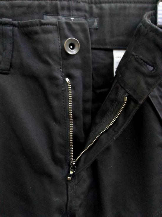 Julius FW09 Black Slim Gas Mask Cargo Pants Size US 30 / EU 46 - 5