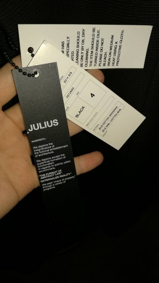 Julius 2014SS BNWT Tailored Open Bottom Jacket Size US XL / EU 56 / 4 - 7