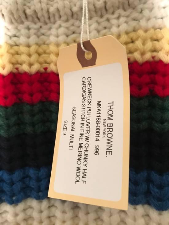 Thom Browne Striped Wool Sweater Size US M / EU 48-50 / 2 - 5
