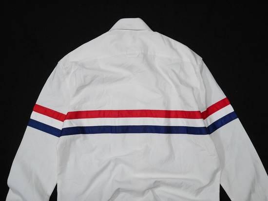 Thom Browne Thom Browne Tristripe Grosgrain Oxford Pocket Shirt Size US L / EU 52-54 / 3 - 2