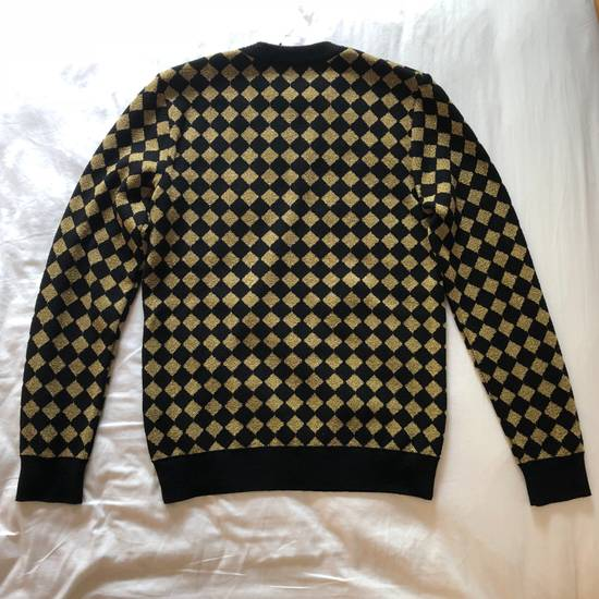 Balmain RARE RUNWAY Balmain Paris Black & Gold Wool Glitter Sweater Size US S / EU 44-46 / 1 - 2