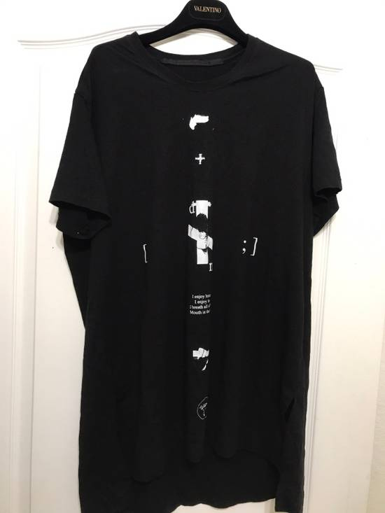 Julius Print Long T Shirt Size US XL / EU 56 / 4