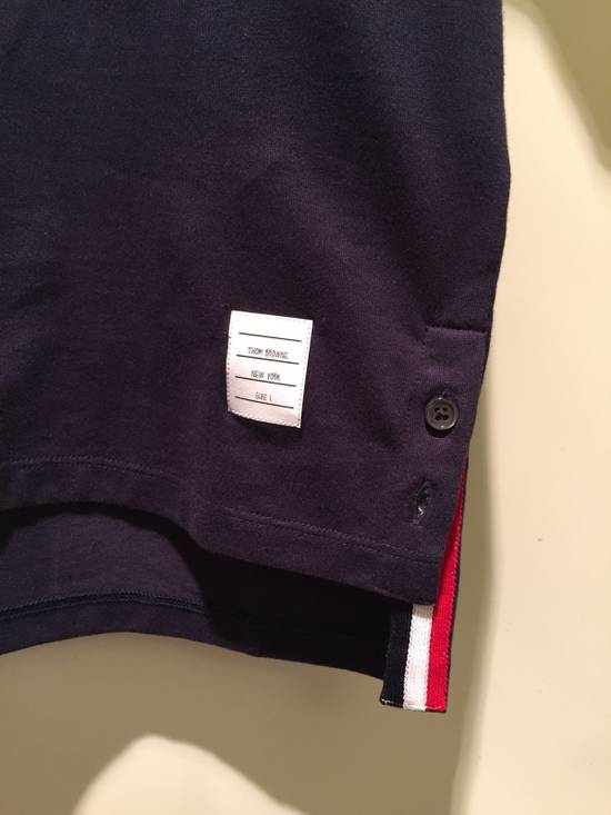 Thom Browne Navy SS Pocket Tee Jersey Cotton Size US S / EU 44-46 / 1 - 3