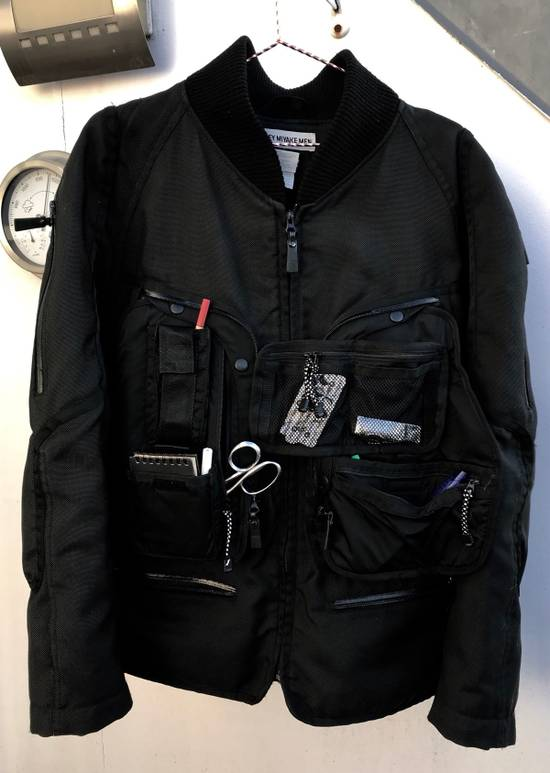 Issey Miyake Cyber Space Suit Cargo Coat AW2000 Size US XL / EU 56 / 4 - 2