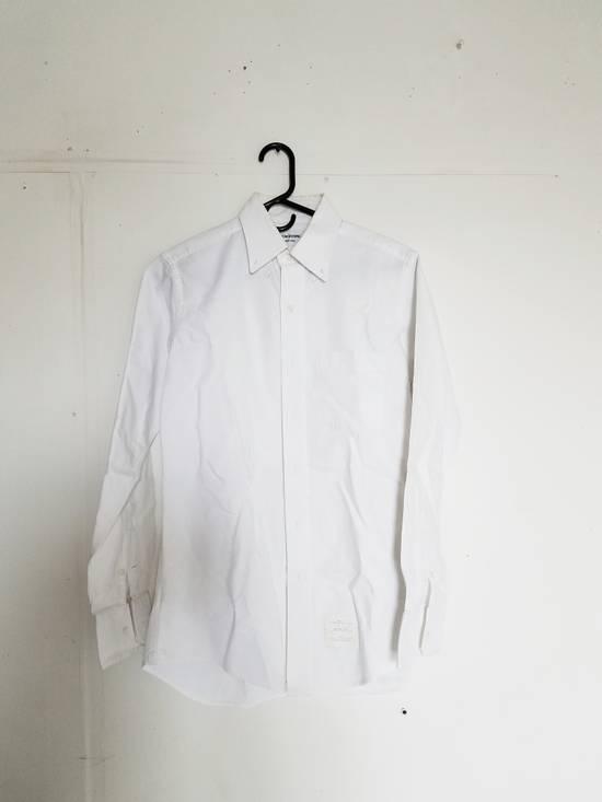 Thom Browne Cotton Oxford Shirt Size US M / EU 48-50 / 2 - 1