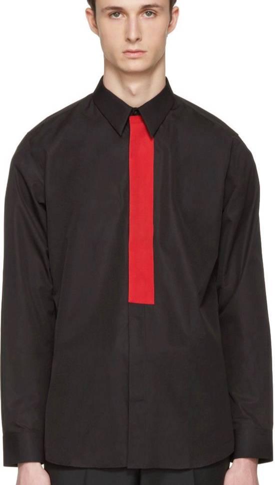 Givenchy Givenchy Men's Black Red Band Shirt Size US S / EU 44-46 / 1