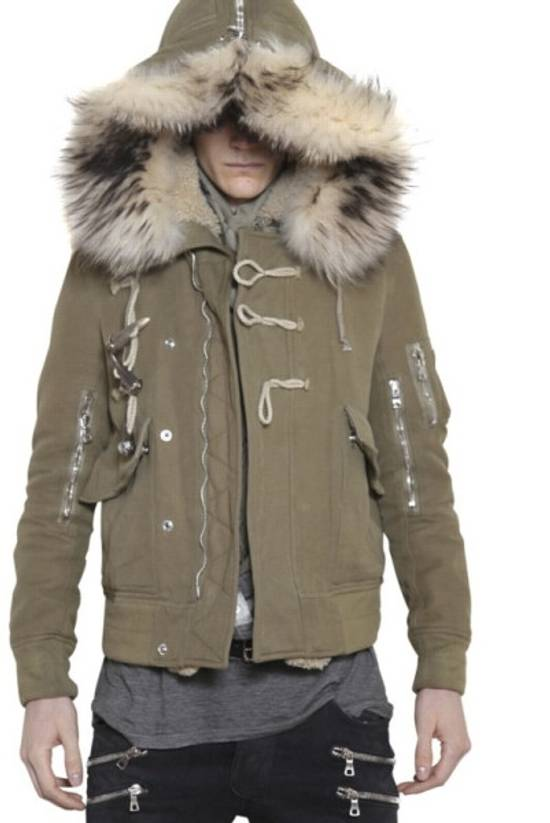 Balmain Raccoon Fur Parka Size US S / EU 44-46 / 1 - 1