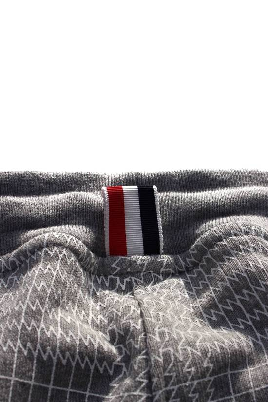 Thom Browne Houndstooth Sweatpants in Grey Size US 30 / EU 46 - 6