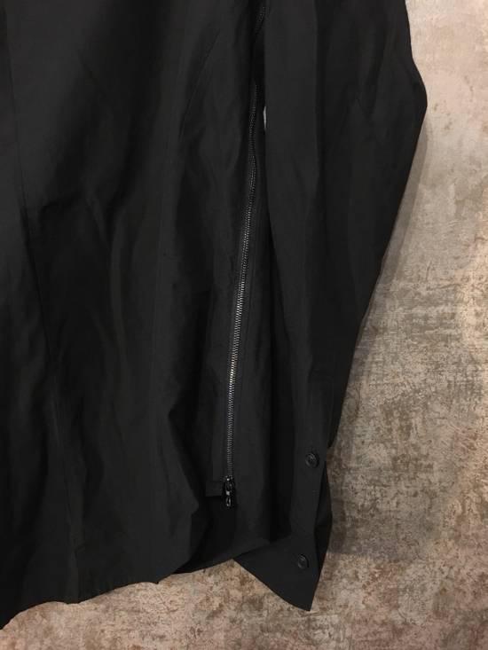 Julius SS14 high collar shirt (BLACK) Size US S / EU 44-46 / 1 - 2