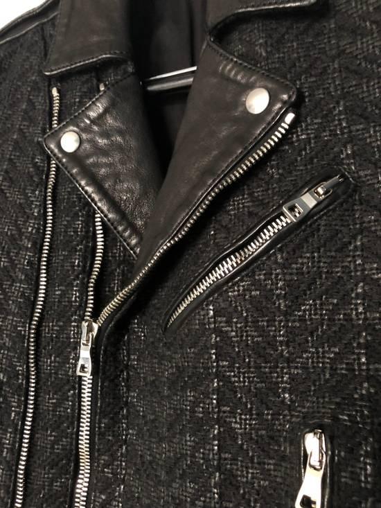 Balmain Balmain Paris Handwoven Short-sleeve Leather Jacket Size US S / EU 44-46 / 1 - 3