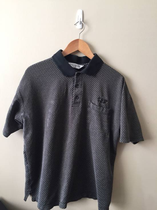 Balmain CBW Embroidery Polo Size US M / EU 48-50 / 2