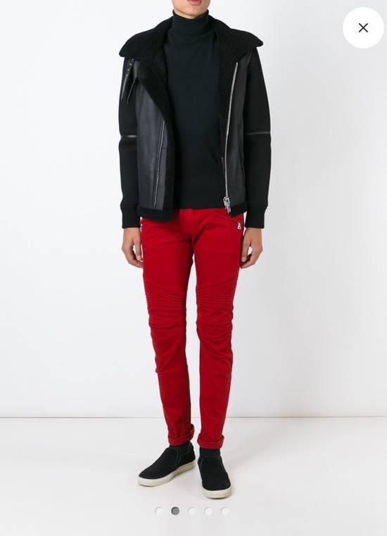 Balmain Jeans balmain biker Red Size US 30 / EU 46