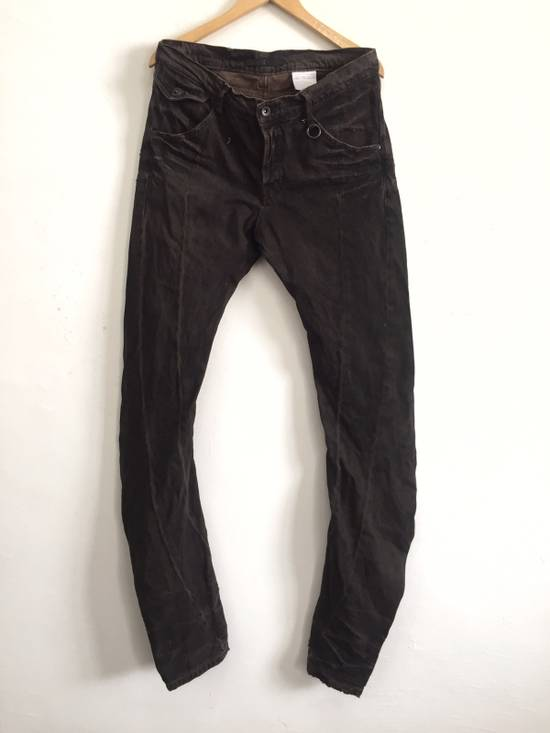 Julius [ NO MORE DROP AFTER THIS ! ] Canon_1 09 SS The Possesed Distressed Curve Pants Size US 34 / EU 50