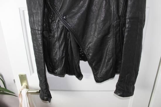 Julius 11aw halo asymmetrical leather jacket Size US M / EU 48-50 / 2 - 2