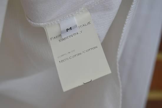 Balmain White Ribbed Long Sleeve T-shirt Size US M / EU 48-50 / 2 - 4