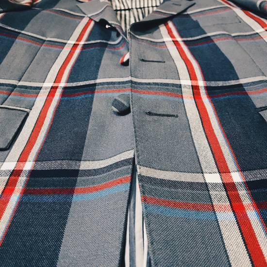 Thom Browne THOM BROWNE Plaid suit Jacket Size 42S - 1