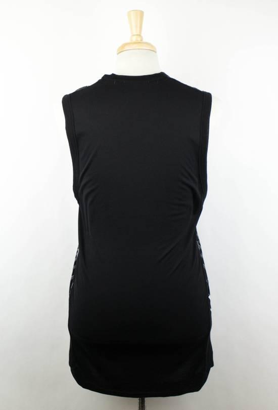 Julius 7 Black Cotton Blend Graphic Tank Top T-Shirt Size 2/S Size US S / EU 44-46 / 1 - 2