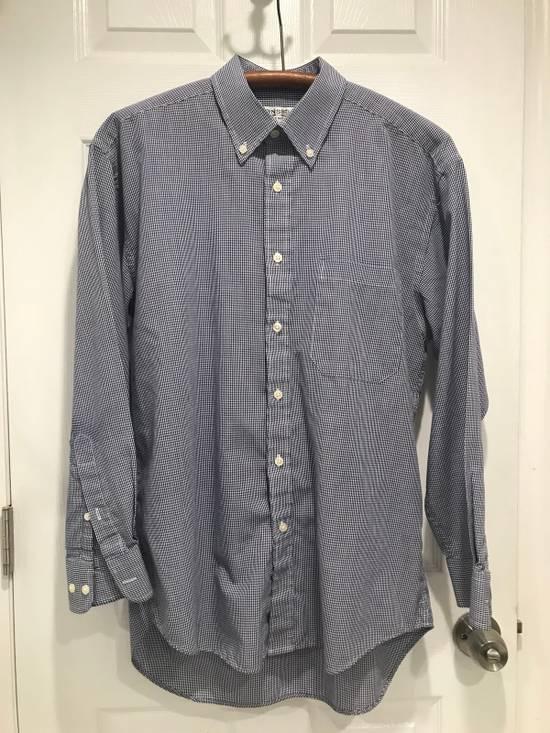 Givenchy Blue + White Button Up Size US M / EU 48-50 / 2