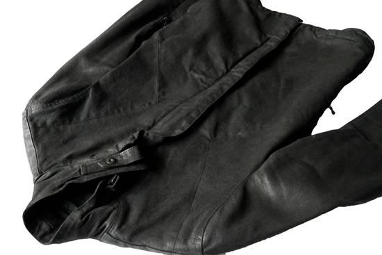 Julius JULIUS _7 ma moto black knit denium biker jacket sz1 eu44 46 xs s slim fit Japan Size US S / EU 44-46 / 1 - 15