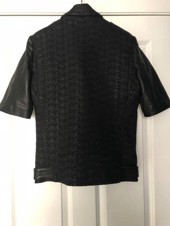 Balmain Balmain Paris Handwoven Short-sleeve Leather Jacket Size US S / EU 44-46 / 1 - 2