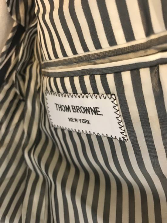 Thom Browne Thom Browne SS13 Navy Canvas Shorts Suit With Anchors (size 0 Blazer, Size 1 Shorts) Size 34S - 6