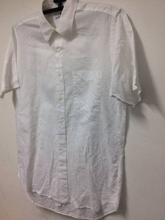 Givenchy Button Up S/S Monsieur Givenchy White Large Made in Japan. Size US L / EU 52-54 / 3 - 1