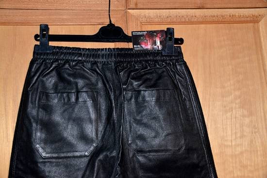 Balmain Leather Track pants Size US 30 / EU 46 - 9